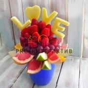 мастер класс по изготовлению букетов из фруктов