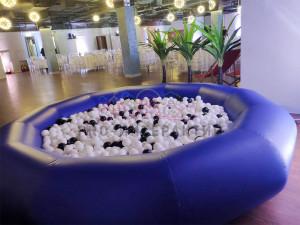 сухой бассейн тёмно-синий
