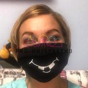 Индивидуальный дизайн защитных масок