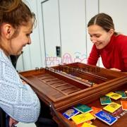 Деревянная игра карточки в аренду