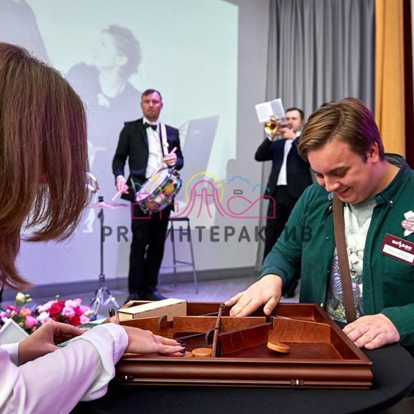 резиночки деревянная игра на мероприятие