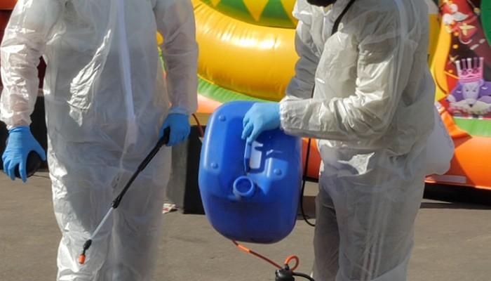 Санитарная обработка оборудования на мероприятии