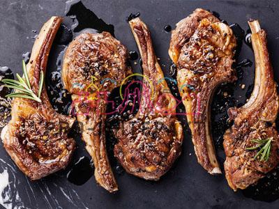 Мясо ягнёнка на гриле