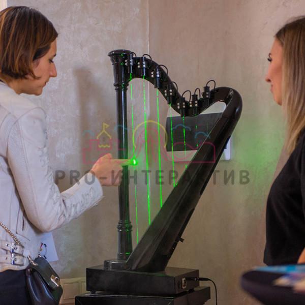 Лазерная арфа в аренду на мероприятие