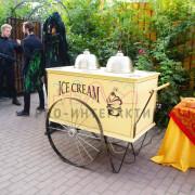 Венская тележка мороженого