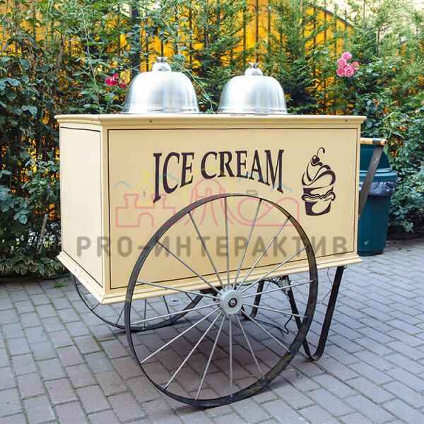 Аренда тележки с мороженым