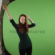 Видео фотозона с хромакеем