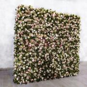 Белые розы в фотозоне