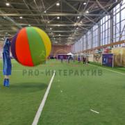 Яркие мячи на мероприятии