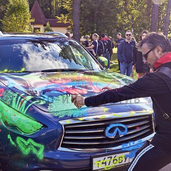 Рисуем на машине